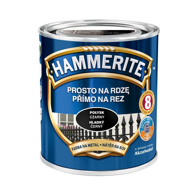Hammerite hladký Svetlo šedý,0.25L