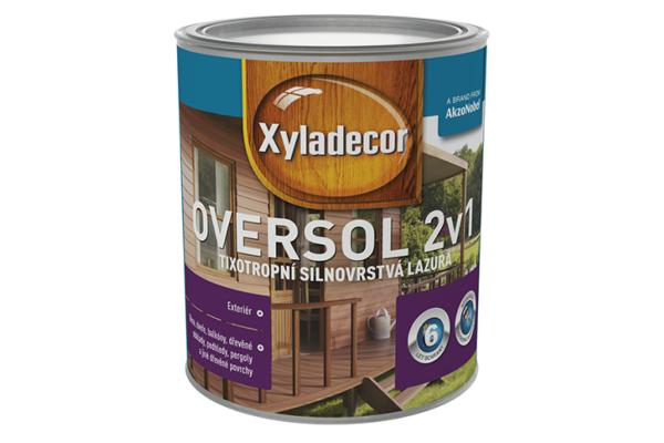 Xyladecor Oversol 2v1 meranti,2,5L