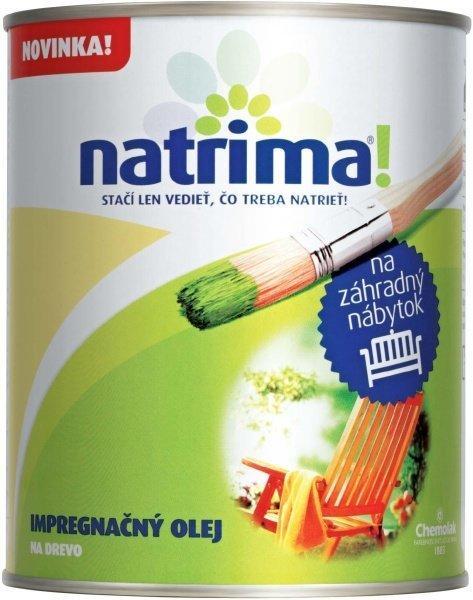 Natrima! Na záhradný nábytok Orech,0,6L