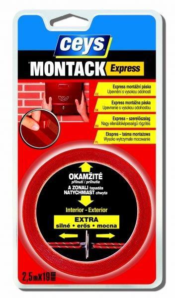 Ceys Montack Express páska 2,5m
