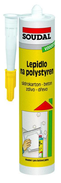 SOUDAL Lepidlo na polystyrén transparentná,400g
