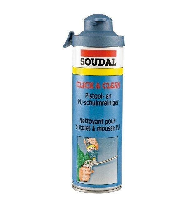 SOUDAL PUR čistič Click& clean 500ml