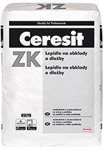 HENKEL Ceresit ZK Lepidlo na obklady a dlažbu 25kg