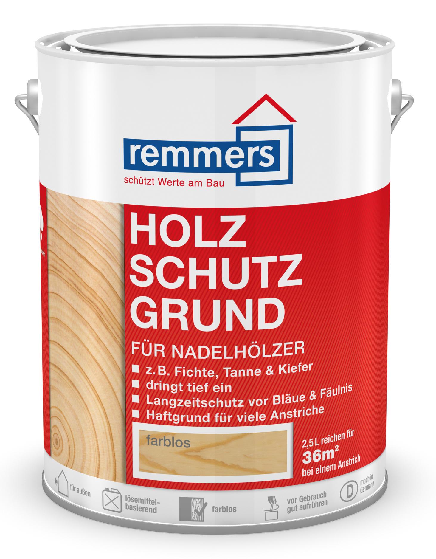 Remmers Holzschutz-Grund Farblos/ Bezfarebná,5L
