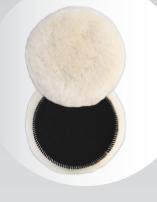 RADEX Leštiaci kotúč z ovčej vlny