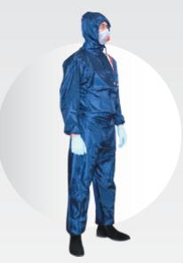 RADEX Polyesterová kombinéza modrá XL