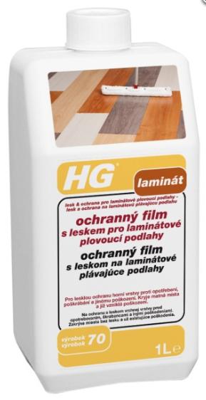HG136 ochranný film s leskom na laminátové plávajúce podlahy