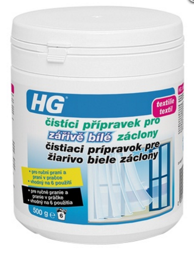 HG416 Čistiaci prípravok pre žiarivo biele záclony