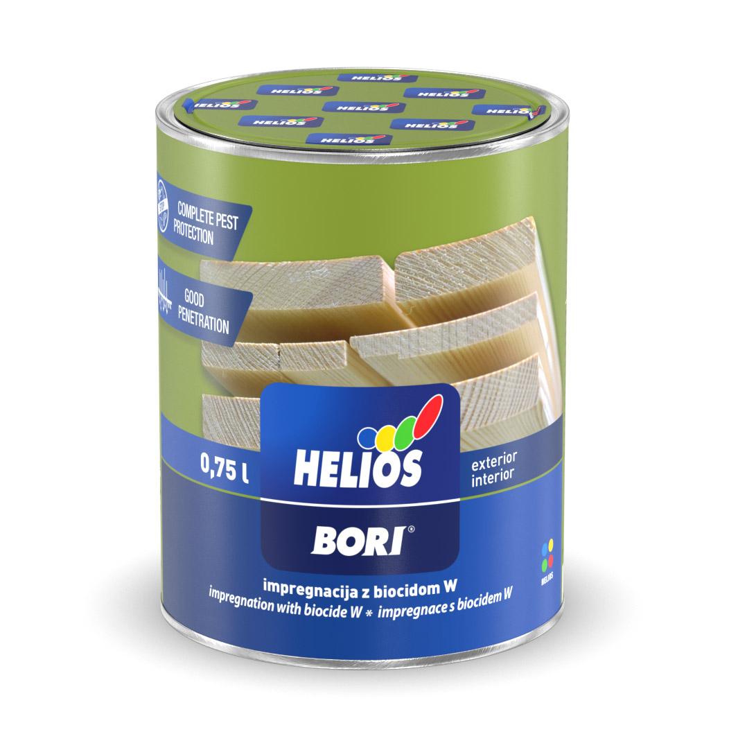 BORI Helios BORI Impregnácia s biocídom W Bezfarebný,0,75L