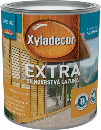 DULUX Xyladecor Extra Bezfarebný,0,75L