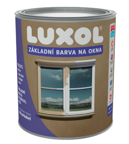 DULUX Luxol základná farba na okná Biela,4L