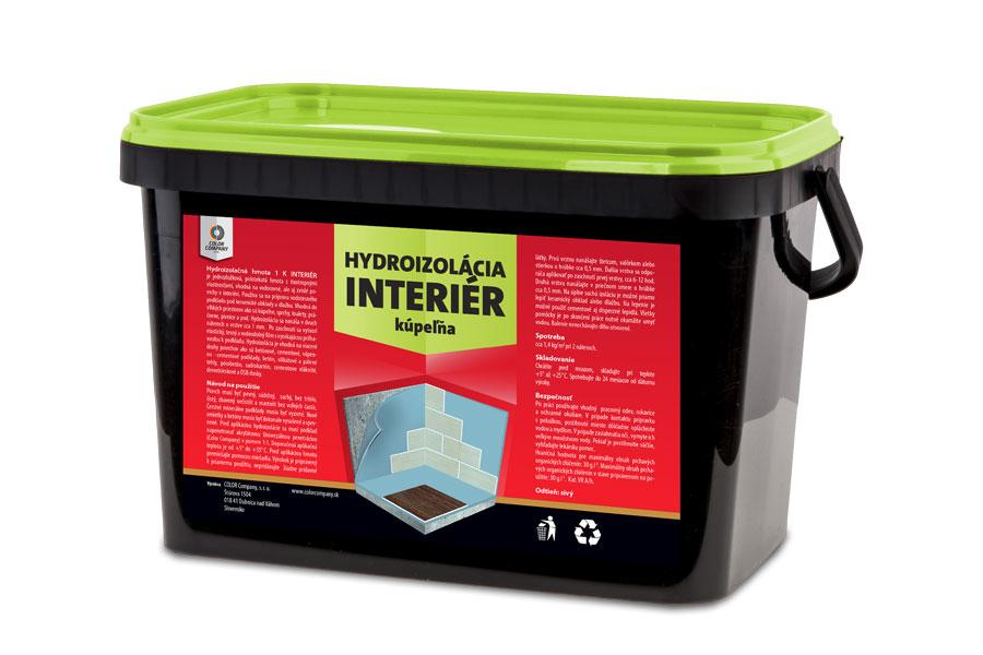 COLOR COMPANY Hydroizolačná hmota 1K - Interiér 3kg