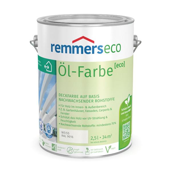 Remmers Öl-Farbe (eco) Svetlo sivá,0.75L