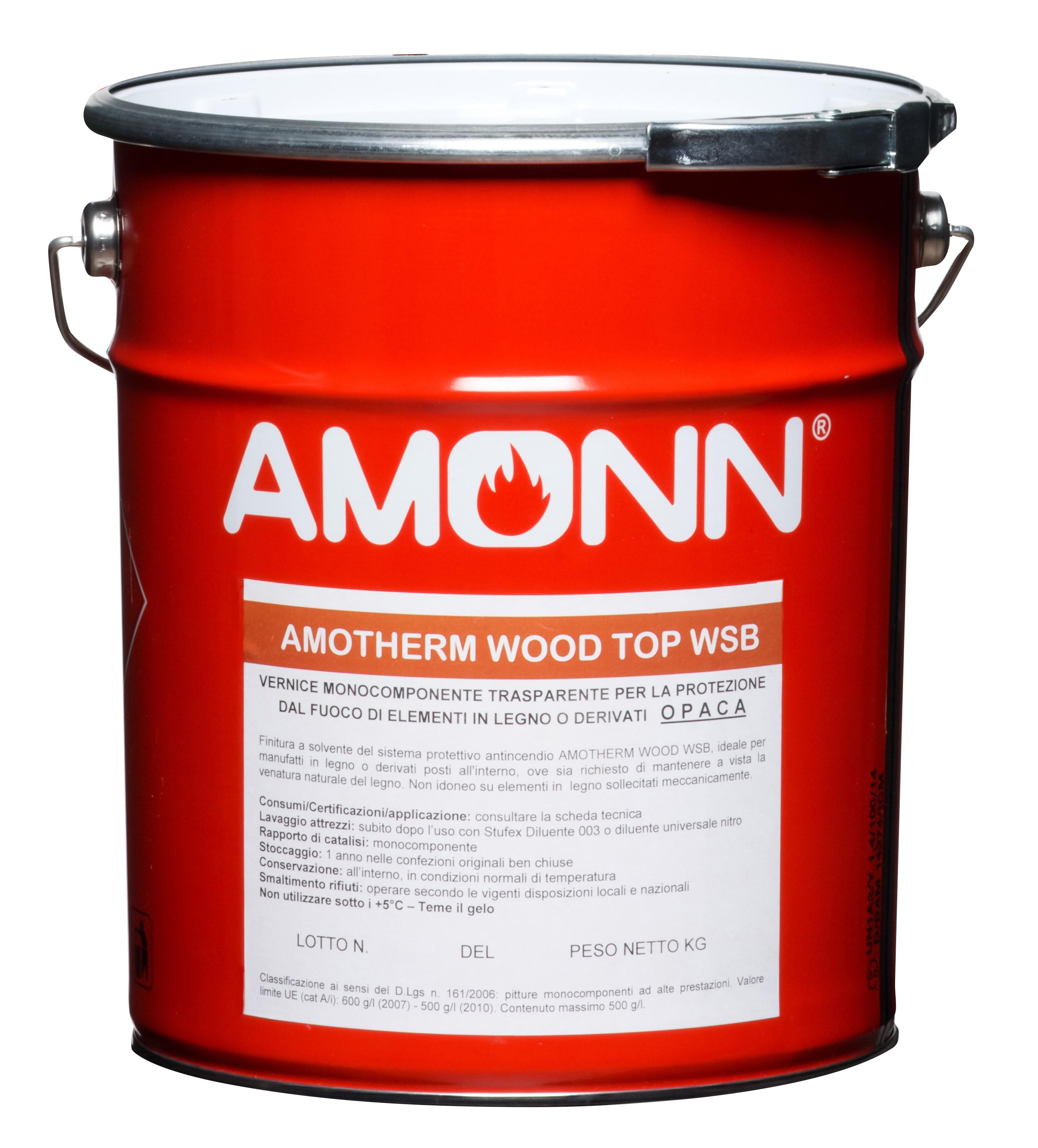Amonn Amotherm Wood Top WSB ochranný náter Transparentná,5kg